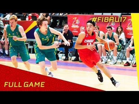 Australia v Canada - Full Game - 2016 FIBA U17 World Championship