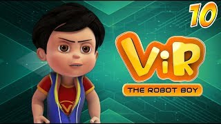 Vir: The Robot Boy | Hindi Cartoon Series For Kids | The Giant Spider | Action Cartoons | Wow Kidz