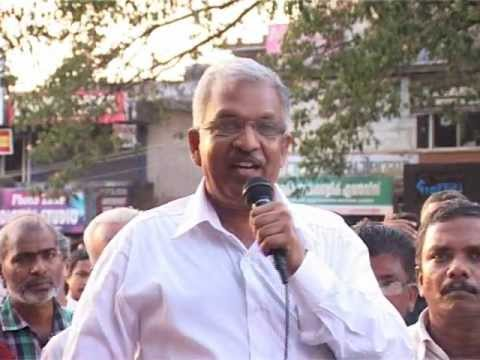 p jayarajan on pc jorj and vayalar ravi.wmv