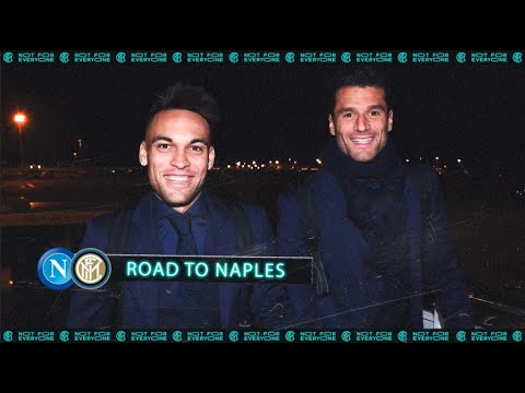 NAPOLI vs INTER   ROAD TO NAPLES   The first game of 2020 awaits! ✈⚫