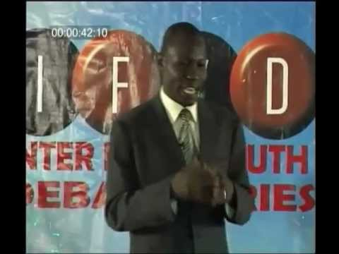 The Plateau Inter-Faith Youth Peace Debate TV Series is an interactive ...
