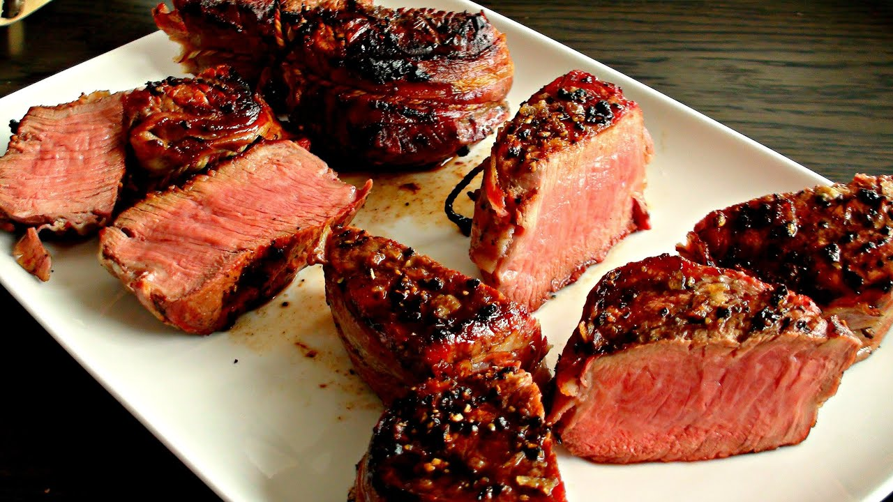 how to cook tournedos on bbq