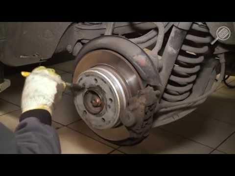 Чистка и смазка ступицы колеса