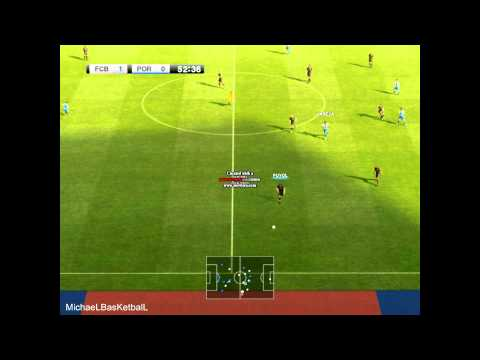 PES 2012 Demo Gameplay-FC Barcelona Vs FC Porto - HD 1080p