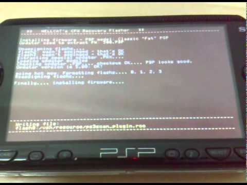 Update PSP 1000 from OFW 2.80 to CFW 5.50 without pandora