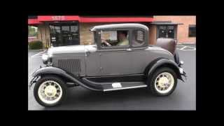 1931 Ford Model A 5 Window Rumble Seat Coupe