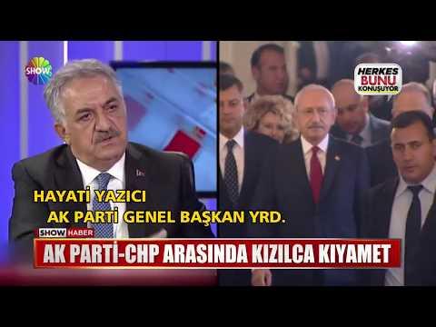 Ak Parti-CHP arasında kızılca kıyamet