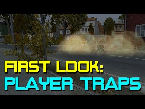 First Look: Player Traps | Land Mine & Bear Trap
