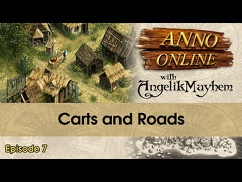 Anno Online - Carts and Roads