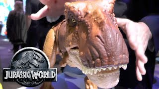Every Jurassic World Fallen Kingdom Toy: Thrash 'N Throw Tyrannosaurus Rex