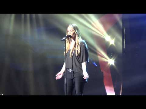 ESCKAZ live in Malm: Anouk (The Netherlands) - Birds (1st dress rehearsal)
