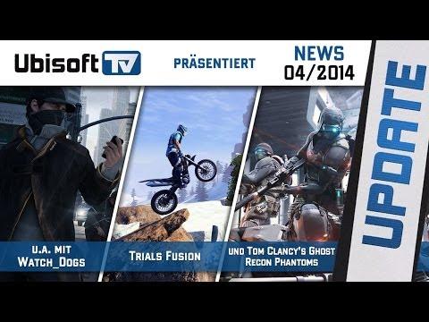 Ubisoft-TV News 042014 u.a. mit Assassins Creed Unity Watch_Dogs...