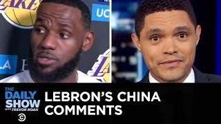 LeBron James's China Remarks, Gina Rodriguez's N-Word Backlash & Google's Pixel 4 | The Daily Show