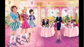 Barbie Princess Charm School - Top of the World (English) - Lyrics