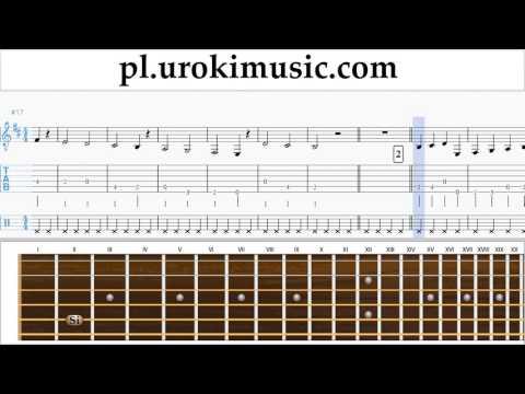 Nauka Gry Na Gitarze Luis Fonsi - Despacito Nuty Poradnik Część 1 Um-a463