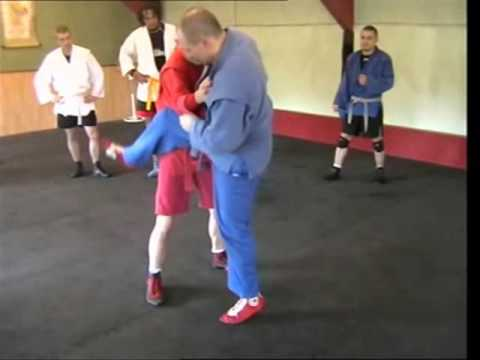 Sambo Technique - Scissor Variation/Flying Leglock Image 1