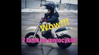 2-latek na motocyklu! | Johny Rider | Pit bike YCF dla dzieci