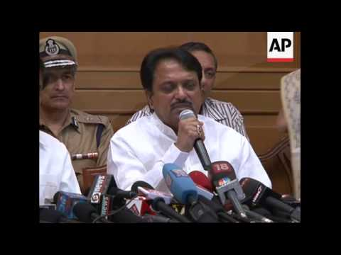 Press conference by Chief Minister of Maharashtra state