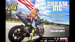 Toni Elias and Yoshimura Suzuki Winning Together - The 2017 Moto America Superbike Championship
