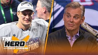 Colin Cowherd reflects on Gronk's personal growth and remarkable NFL career | NFL | THE HERD