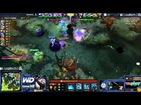 Alliance vs Dignitas - Game 1 (WePlay.TV - Playoffs)