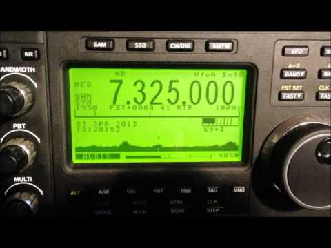 7325kHz Wantok Radio Light Port Moresby PNG