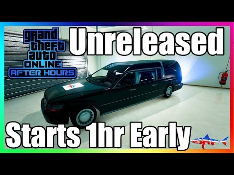🔴 GTA 5 ONLINE AFTER HOURS DLC UNRELEASED VEHICLE & TUNABLES COME JOIN IN