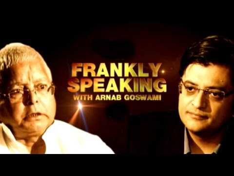 Frankly Speaking with Lalu Prasad Yadav - Full Interview