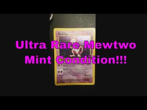 SUPER RARE Pokemon Card Mewtwo (Review. Reaction)