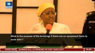 Download Aisha Buhari Calls For Probe Of N3.2B Allocation To Aso Villa Clinic | Politics Today | 3Gp Mp4