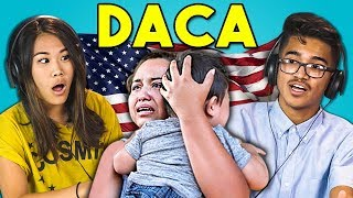 TEENS REACT TO DACA (ILLEGAL IMMIGRATION POLICY)