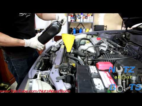 Toyota Rav4 2008 Antifreeze Coolant Drain And Replacement