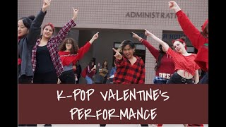 Mesquite High School's KCLUB (Kpop) Valentine's Day Performance