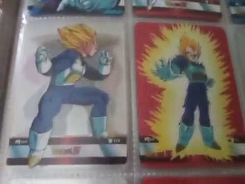 Dragon Ball Z - Lamincards Serie Platinum - Completa