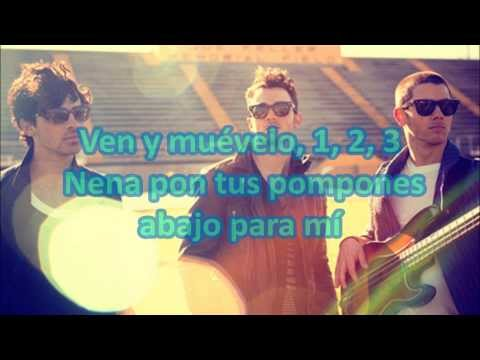 Pom Poms-jonas Brothers-letra video