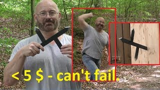 How To Weaponize Flat Steel Bars
