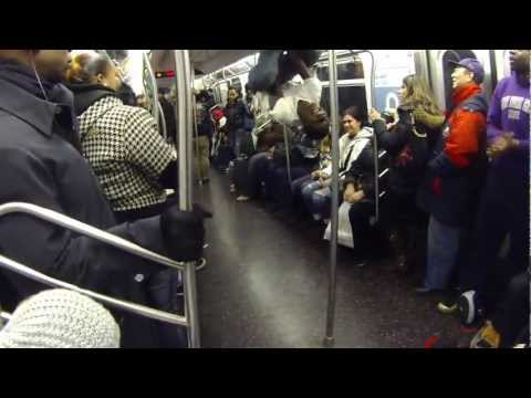 2/24/13 NYC Subway Performers - BEST VIDEO