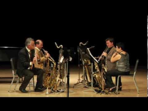 Areté Woodwind Doubling Quartet - Quartet No. 1 (Joseph Alfuso)
