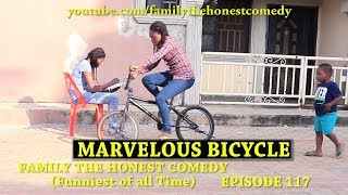 AFRICAN FUNNY VIDEO (MARVELOUS BICYCLE) (Family The Honest Comedy) (Episode 117)