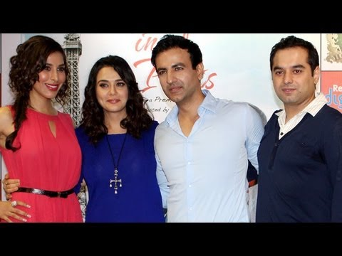 Watch Preity Zinta At 'Ishkq In Paris' Press Conference