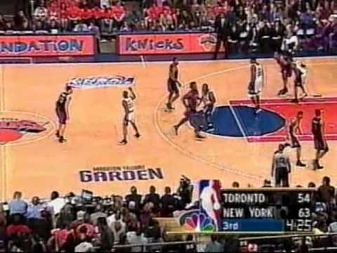 Tracy McGrady's (25pts/10rebs/8offrebs) Playoffs Debut vs. Knicks (2000)