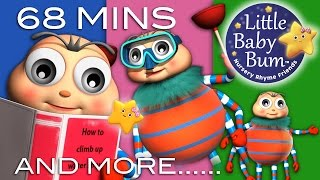 Itsy Bitsy Spider | Plus Lots More Classic Rhymes | 68 Minutes Compilation from LittleBabyBum!
