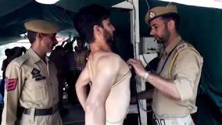 Sub Inspector recruitment rally at Gulshan Ground, Jammu.