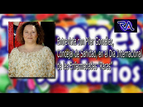 Pilar González, habla hoy sobre el Día Internacional de las enfermedades denominadas