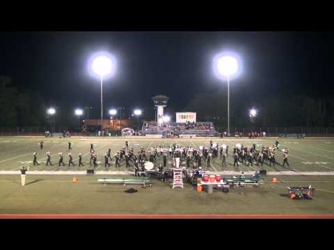 Mehlville High School Marching Band Aug 29 2014  Halftime