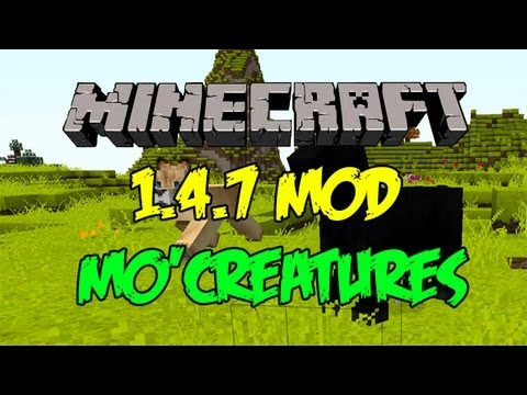 Minecraft 1.4.7 - สอนลง mod สัตว์