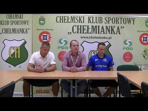 2017.08.30 Chełmianka Chełm - Stal Rzeszów 1:2 (0:0) konferencja prasowa