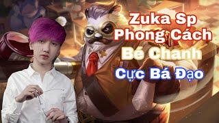 Bé Chanh Leo Rank Cùng FL ADC Bị Bắt Cầm Zuka SP Và Cái Kết!!
