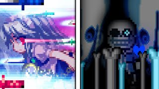 Sans VS Sakuya - Short Sprite Animation