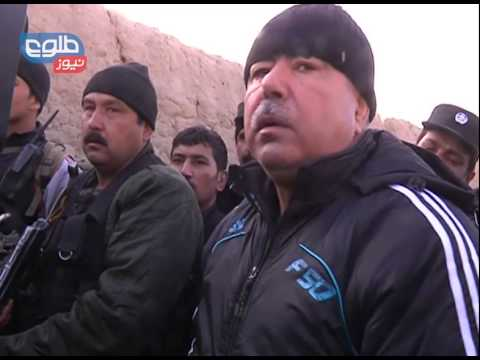 TOLOnews 18 November 2014 Gen. Dostum visits the scene of the Kabul suicide attack
